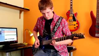 Pink Floyd Comfortably Numb Guitar Solo Cover by Seb!