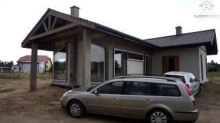Instalacja elektryczna w domu jednorodzinnym w Mikanowo Włocławek  Inteligenty dom SystemSmart