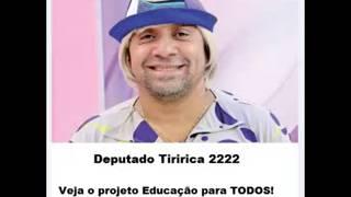 Proposta eleitorais de Tiririca educação para todos