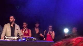 Elji Beatzkilla singing Dança Kizomba at Berlin Kizzes