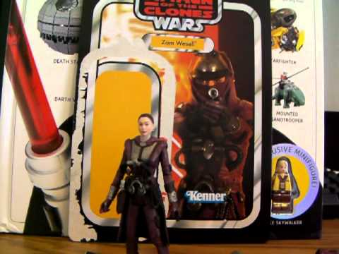 Zam Wesell action figure review