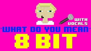 What Do You Mean w/Vocals by JB Flex (8 Bit Remix Cover Version) [Tribute to Justin Bieber]
