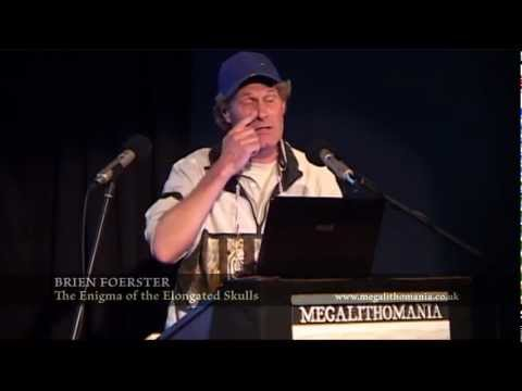 Brien Foerster – The Enigma of the Elongated Skulls – Megalithomania 2012 preview