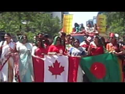 Bangladeshi Parade In Canada 2O12