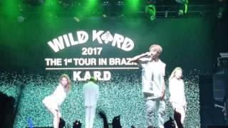 Kard Wild Tour in Brazil - (Cover) Eminem - The Monster (Explicit) ft. Rihanna