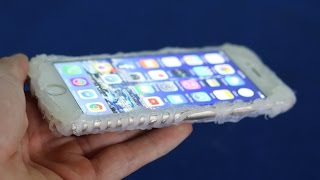 Make a Amazing Iphone Case from Hot glue | DIY Smartphone Case
