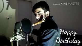 Happy Birthday _ flute instrumental
