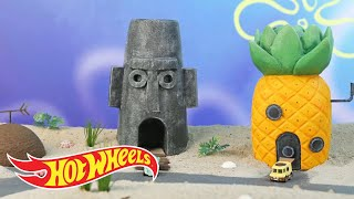 The SpongeBob Squarepants Bikini Bottom Bandit Strikes Again  | Hot Wheels