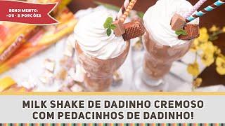 Milk shake de Dadinho - Receitas de Minuto