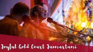 Joyful Gold Coast Janmastami 2017 with Ashraya