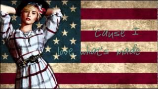 Demi Lovato - Made in the USA (Lyrics) NO PITCH CHANGE