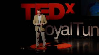 The fall and rise of a gambling addict | Justyn Rees Larcombe | TEDxRoyalTunbridgeWells
