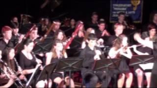 the Jerusalem conservatory Hassadna's youth wind orchestra