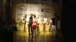 Palestra Fenix esibiz: Bachata _ Spinning