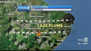 Hawaii Island may experience easterly winds, what it means for gas plumes
