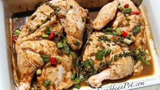 How To Season Chicken As It's Done In The Caribbean - FOOD FAQ!