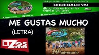 BANDA MS - ME GUSTAS MUCHO (LETRA)