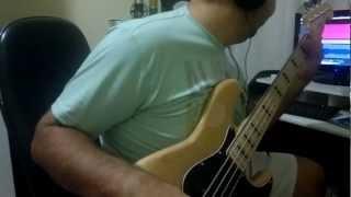 A alegria do Senhor - Fernandinho // Bass cover // video aula baixo