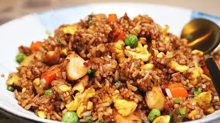 BETTER THAN TAKEOUT AND EASY! Chinese Chicken Fried Rice Recipe