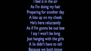 Rihanna Unfaithful with lyrics