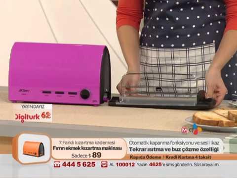 Arzum Fırrın Sürgülü Ekmek Kızartma Makinesi