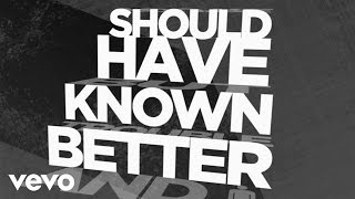 Hinder - Should Have Known Better (Lyric)