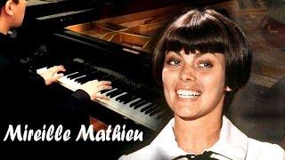 Mireille Mathieu - Pardonne-moi ce caprice d'enfant (Piano Cover)