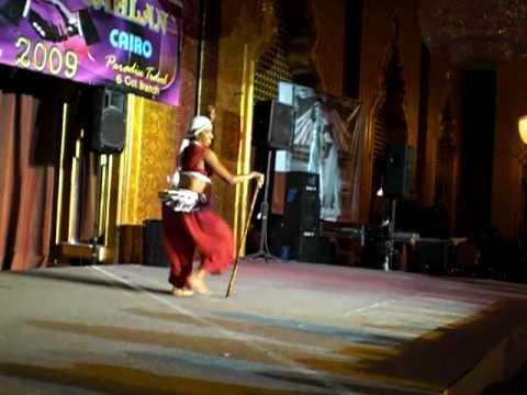 MALE BELLYDANCER , HABIB LAYALI…… at Ahlan Wa Sahlan   2009 EGYPT CAIRO