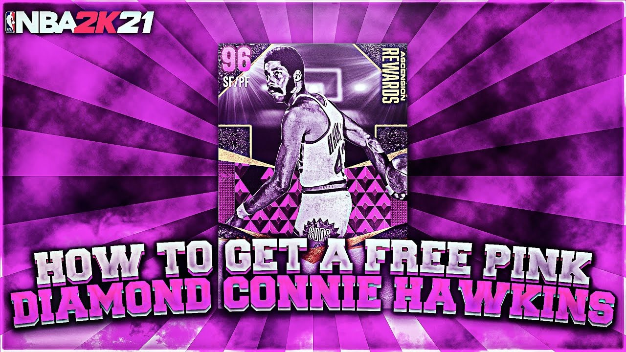 Young Simba - HOW TO GET A *FREE* PINK DIAMOND CONNIE HAWKINS ON NBA 2K21 MYTEAM