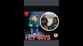 Hey Guys! DIY  McDonald's Happy Meal Kids Meals Moive Sing Toys