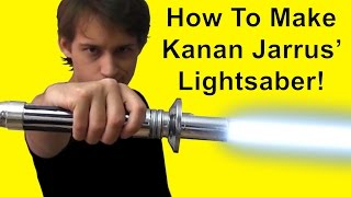 How To Make Kanan Jarrus Lightsaber (Star Wars DIY)