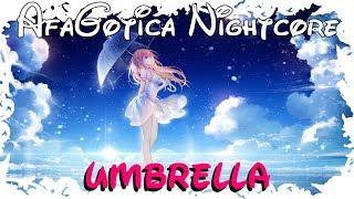 Nightcore ~ Umbrella [Lyrics]