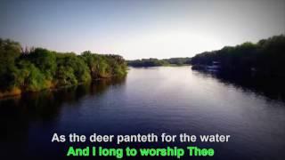 As the Deer Gospel Karaoke HD1080P Vocal