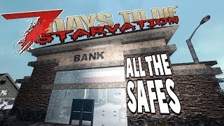 So many Safes | 7 Days To Die Starvation | E25