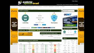 Planilha de Analises Esportiva - OVER/UNDER - BTTS