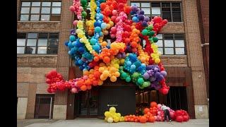 15,000 Balloons for LBGTQ Pride