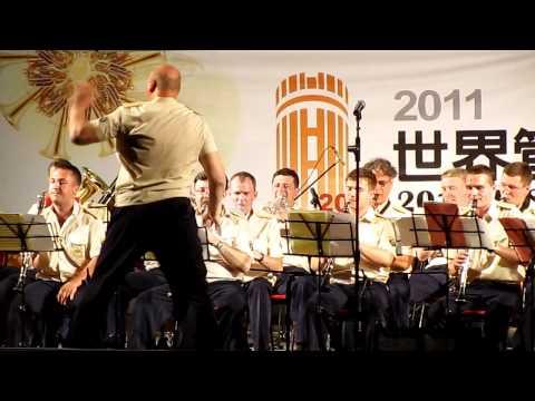 2011 WASBE 世界管樂年會 – 烏拉山礦業大學(曲目1)