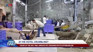 Chunk Of The Western Wall Breaks Off - Jul. 23, 2018