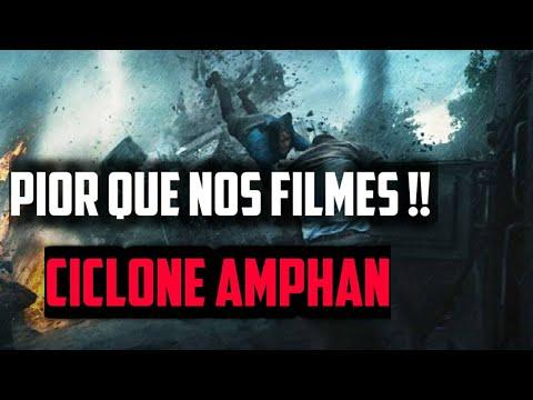3 Milhões de Desabrigados na Índia: Ciclone Amphan supera até mesmo os filmes