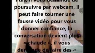 Arnaque Chantage Webcam