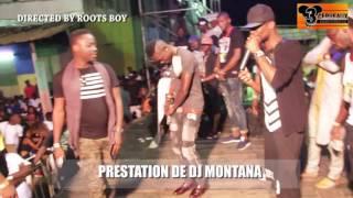 PRESTATION DE DJ MONTANA  AU CONCERT LIVE DE DJ LEO AU NPA
