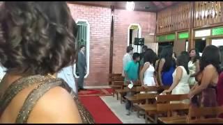 Casamento na Igreja Crista Maranata Petrolina PE..Jacqueline&Moises!