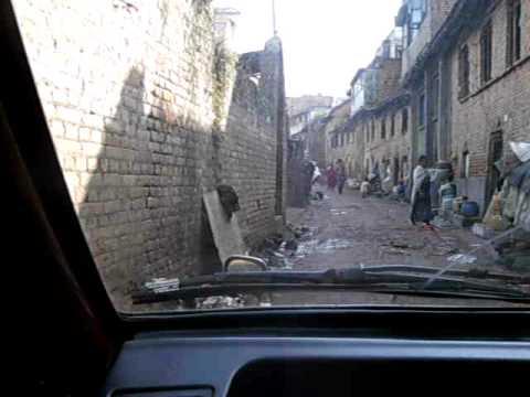 Martin in Nepal – Taxifahrt durch Kathmandu