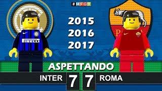 Road To: Inter - Roma • Serie A 2015 2016 2017 • Lego Calcio Film Goals Highlights