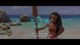 Moana - Um Mar de Aventura Trailer Legendado