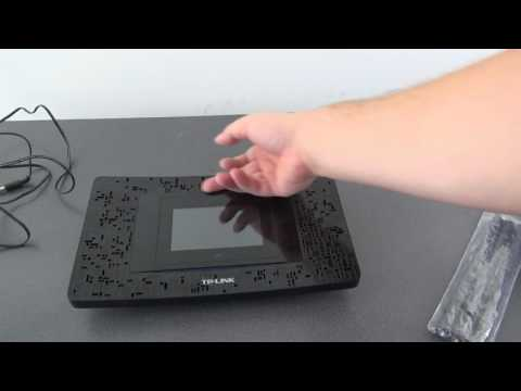 Unboxing TP-Link AC1900 Wi-Fi Touchscreen Router Gigabit