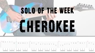Solo Of The Week: 14 Europe - Cherokee tab