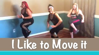 """I Like to Move it, Move it"" (Remix)   Beni's Choreo   Dance Fitness"