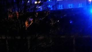 Pożar ul. Rumuńska 29.12.2016