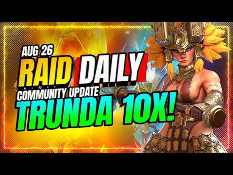 💥TRUNDA 10x?! WORTH or NOT? | RAID Shadow Legends